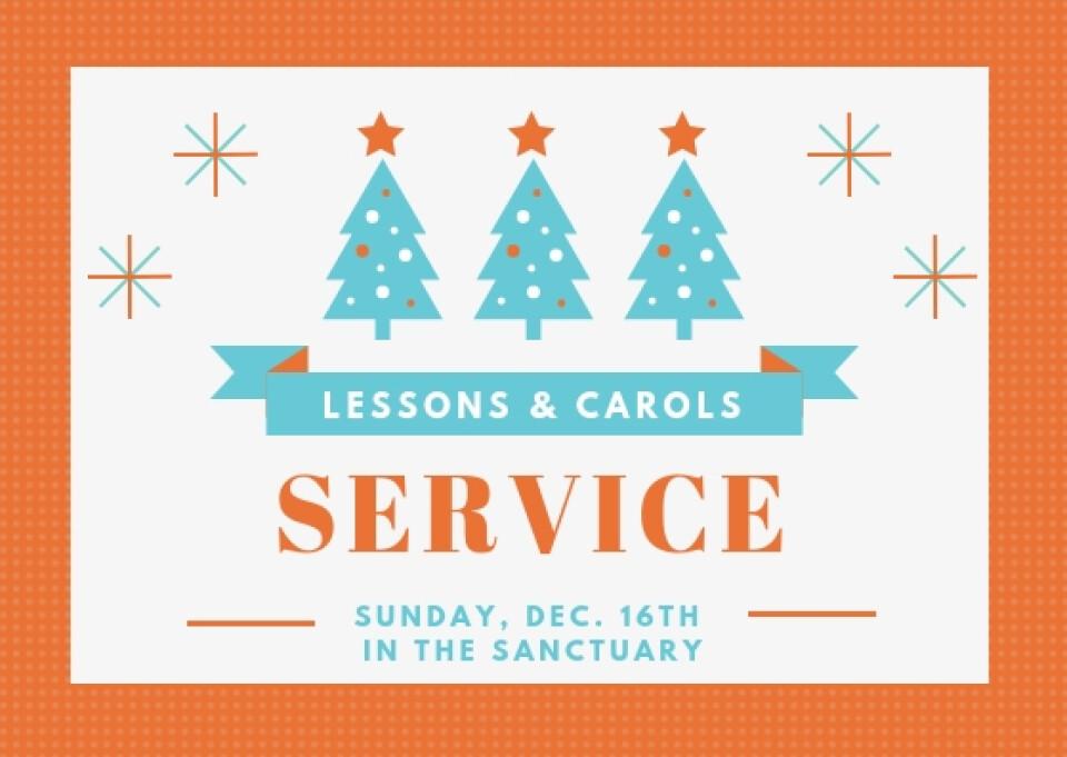 Lessons & Carols