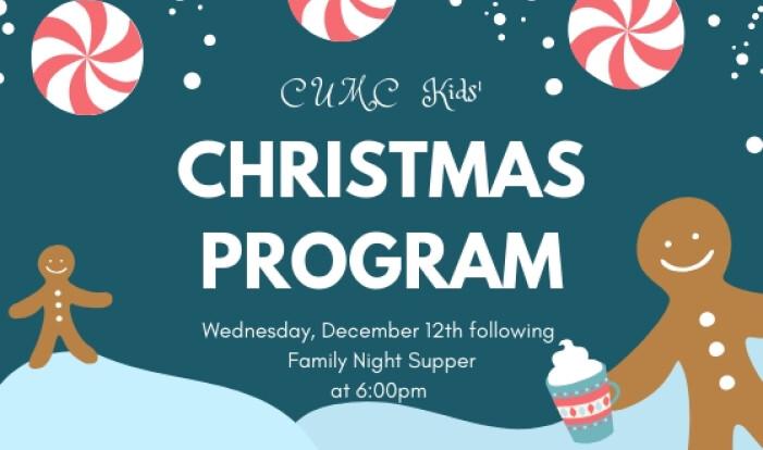 Kid's Christmas Program