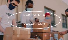 Next Steps - Volunteer with us